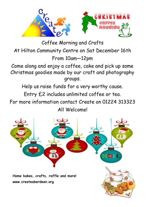 Christmas Coffee Morning @ Hilton Community Centre | Scotland | United Kingdom